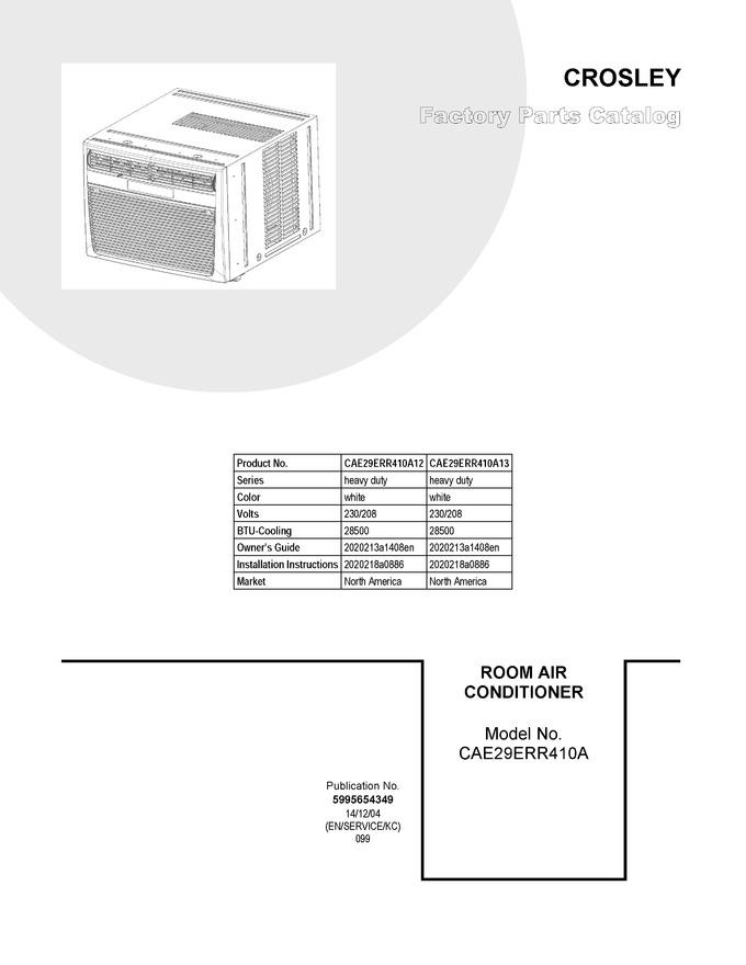 Diagram for CAE29ERR410A13