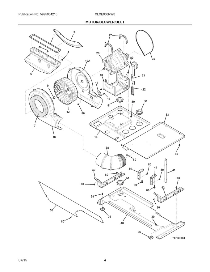 Diagram for CLCE600RW0