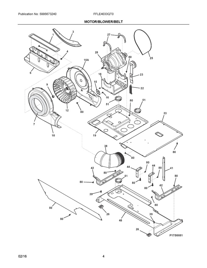 Diagram for FFLE4033QT0