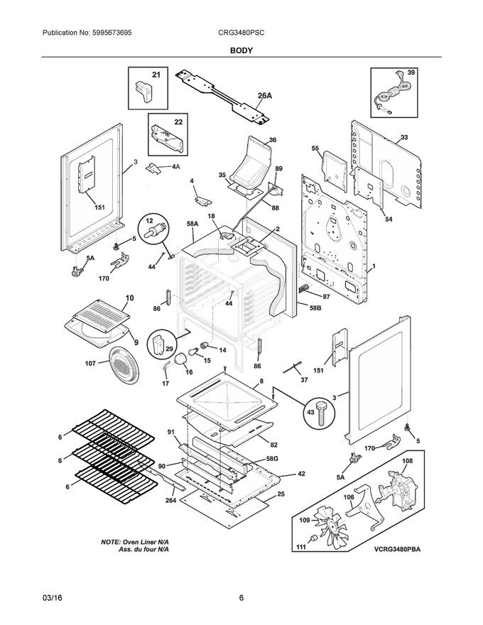 Diagram for CRG3480PSC