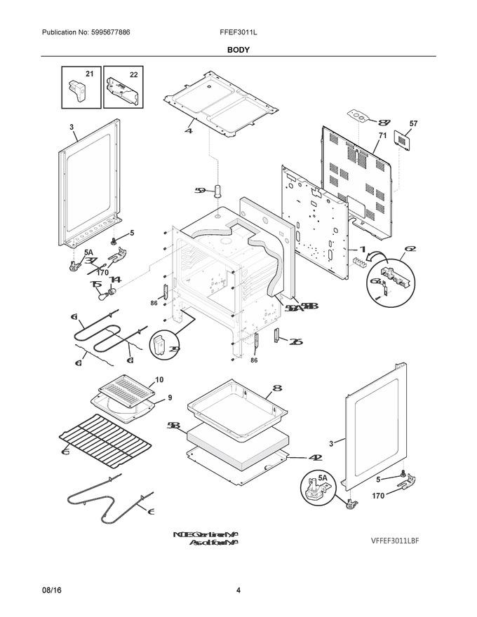Diagram for FFEF3011LWH