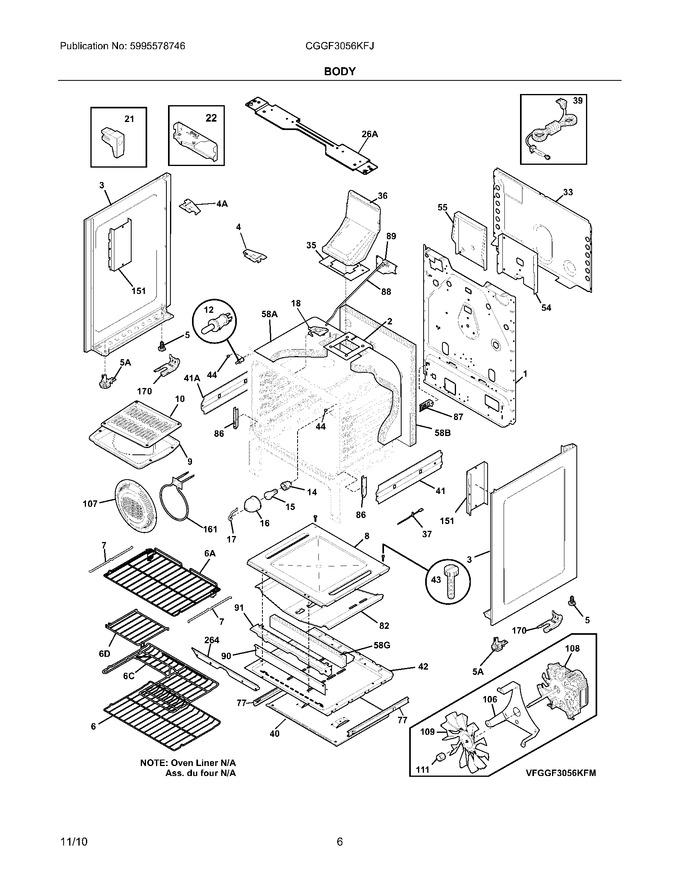 Diagram for CGGF3056KFJ