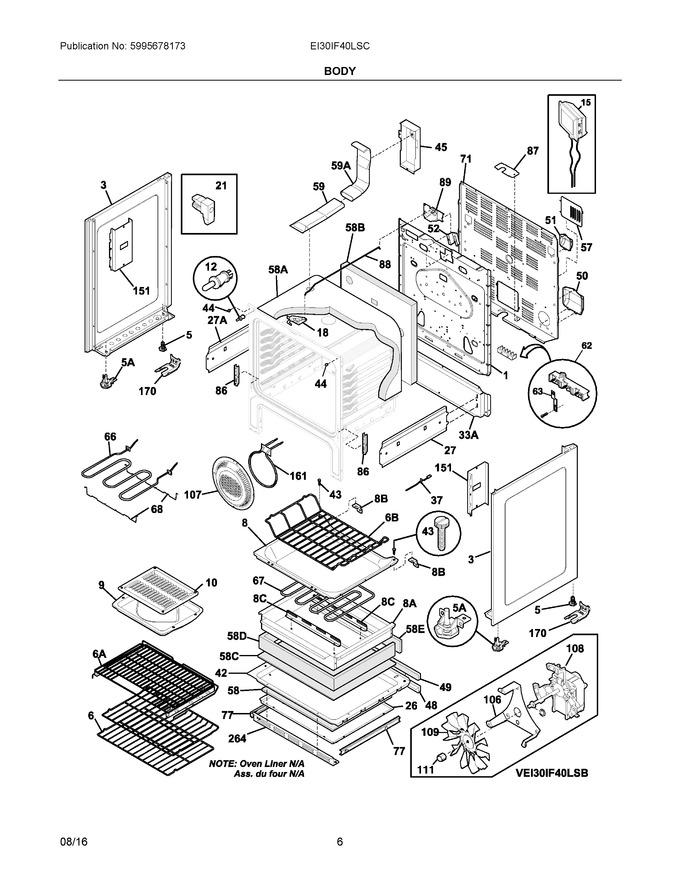 Diagram for EI30IF40LSC