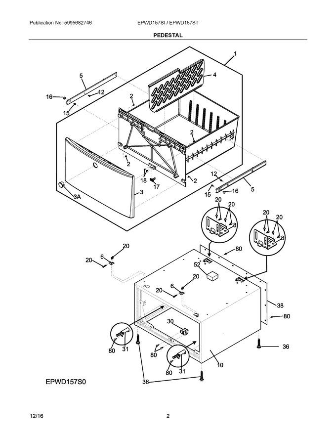 Diagram for EPWD157SIW0