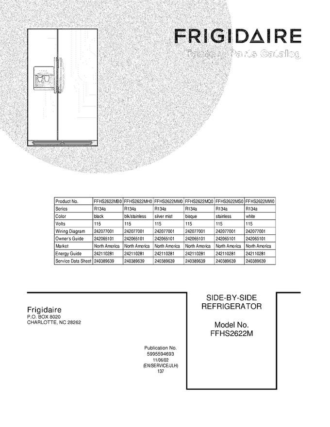 Diagram for FFHS2622MM0