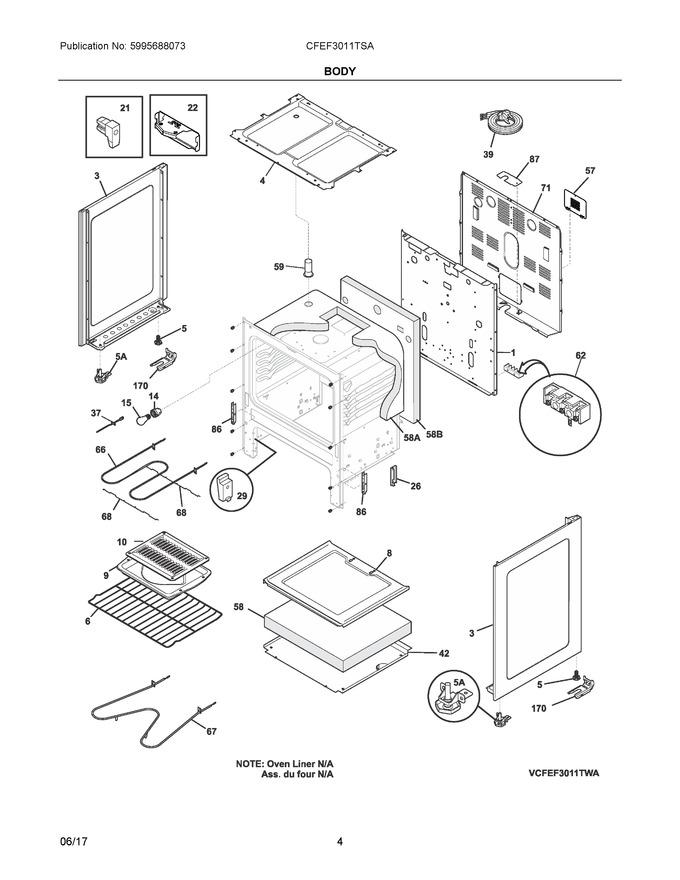 Diagram for CFEF3011TSA