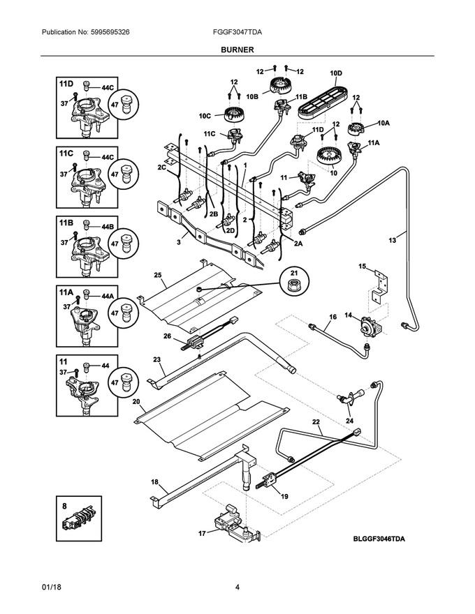 Diagram for CFEF3016TSB