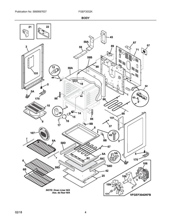 Diagram for FGEF3032KBC