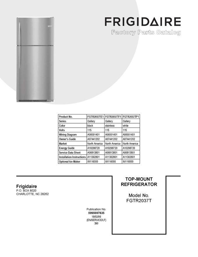 Diagram for FGTR2037TF1
