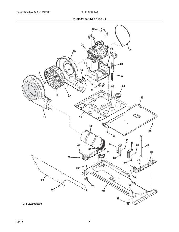 Diagram for FFLE3900UW0