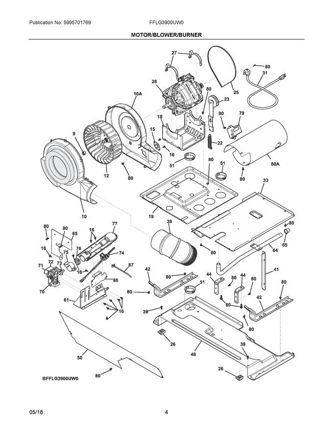 Diagram for FFLG3900UW0