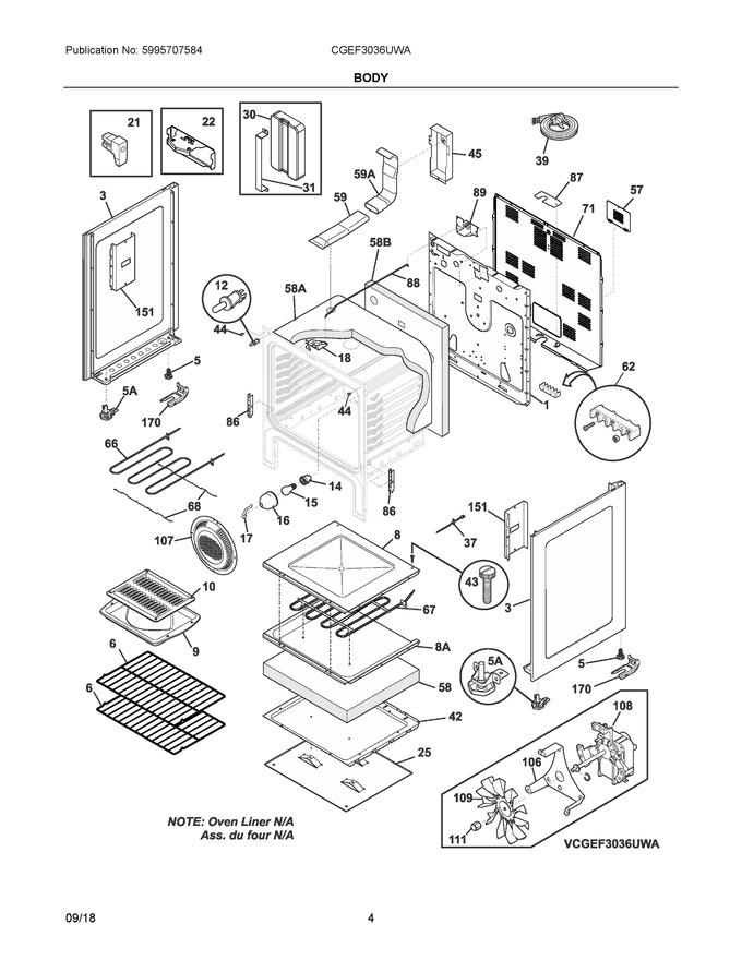 Diagram for CGEF3036UWA