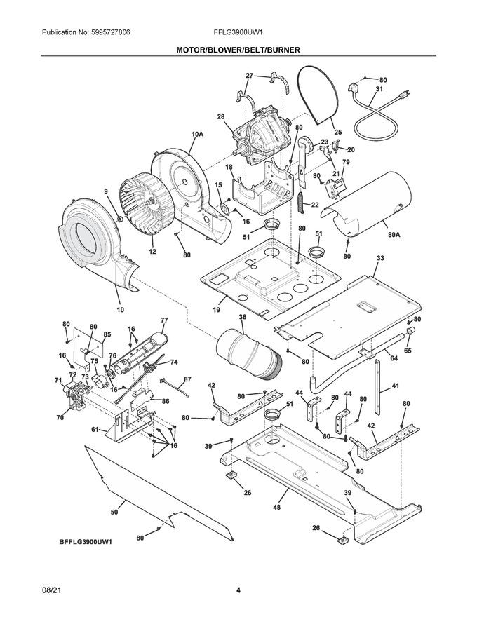 Diagram for FFLG3900UW1