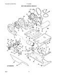 Diagram for 03 - Motor/blower/belt/burner