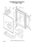 Diagram for 04 - Refrigerator Door Parts