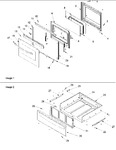 Diagram for 05 - Oven Door And Storage Drawer