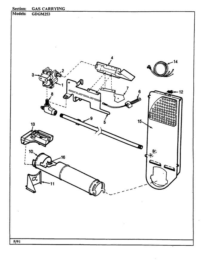 Diagram for GDGM253A