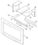 Diagram for 06 - Microwave Frame & Attachments