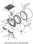 Diagram for 03 - Fr Blkhd, Air Duct, Felt Seal & Cylinder