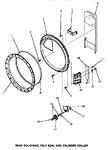 Diagram for 10 - Rear Blkhd, Felt Seal & Cylinder Roller
