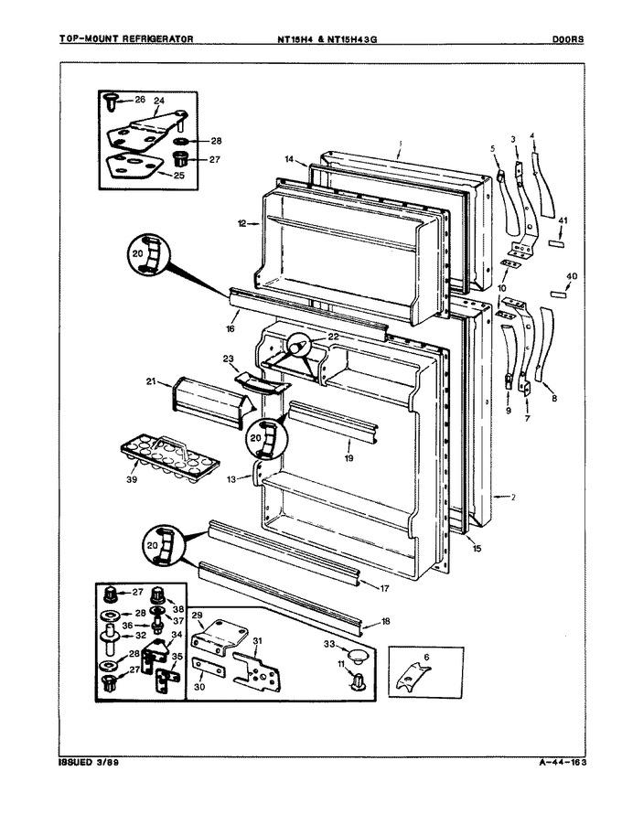 Diagram for NT15H43GH (BOM: 8D53A)