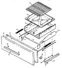 Diagram for 02 - Broiler Drawer Assy