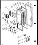 Diagram for 11 - Ref Door