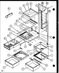 Diagram for 12 - Ref Shelving And Drawers