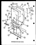 Diagram for 05 - Ref Door Parts