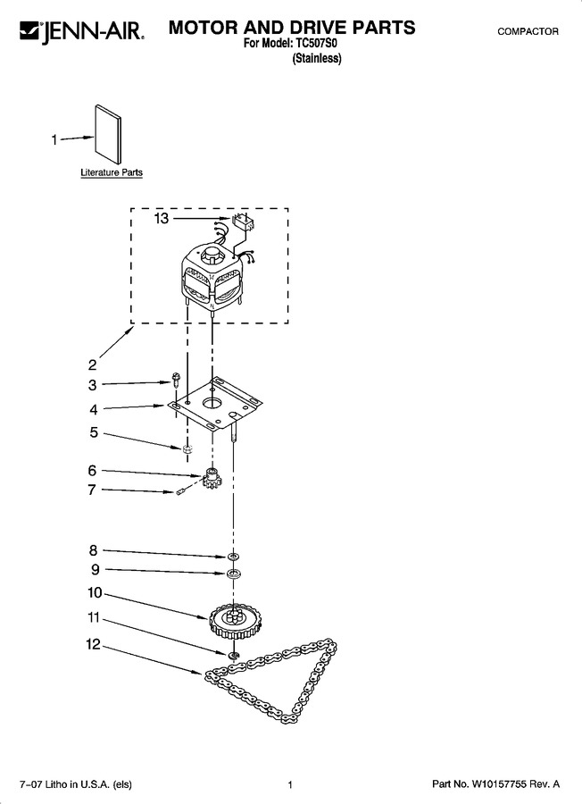 Diagram for TC507S0