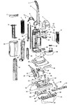 Diagram for 01 - Agitator, Motor, Handle, Mainbody