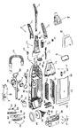 Diagram for 02 - Motor, Handle, Hose, Baghousing