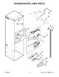 Diagram for 04 - Refrigerator Liner Parts