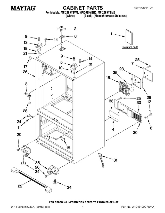 Diagram for MFI2569YEM2