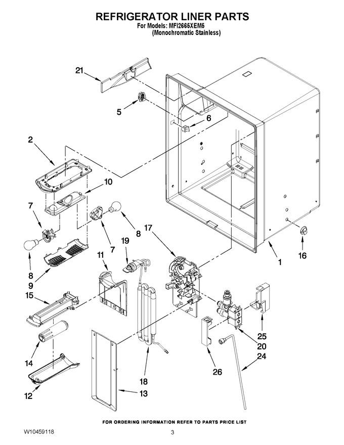 Diagram for MFI2665XEM5
