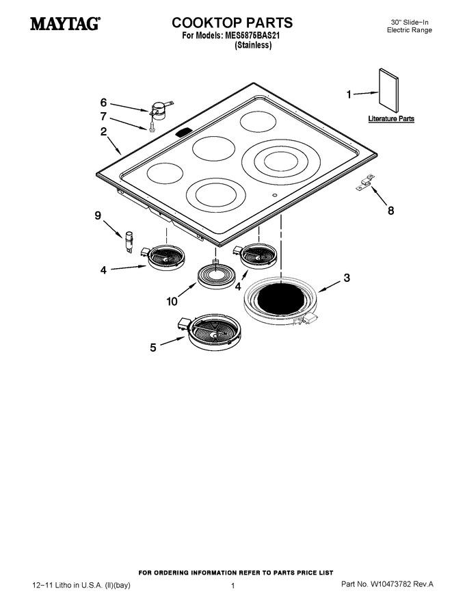 Diagram for MES5875BAS21