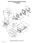 Diagram for 04 - Motor And Ice Container Parts