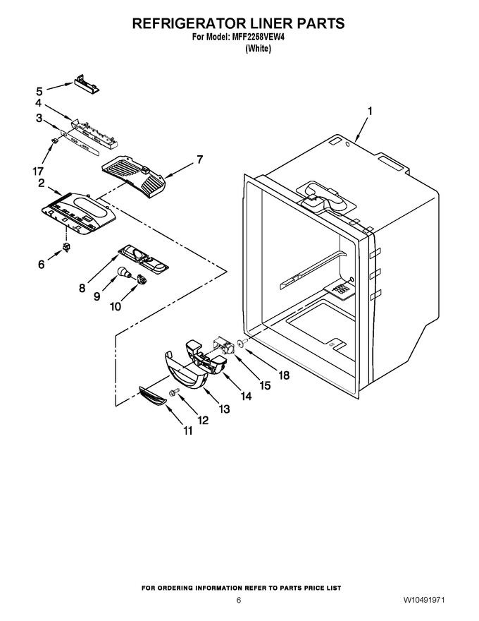 Diagram for MFF2258VEW4