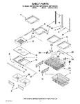 Diagram for 07 - Shelf Parts