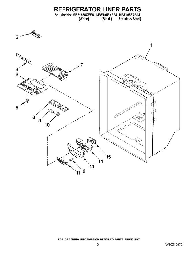 Diagram for MBF1958XEW4
