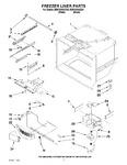 Diagram for 02 - Freezer Liner Parts