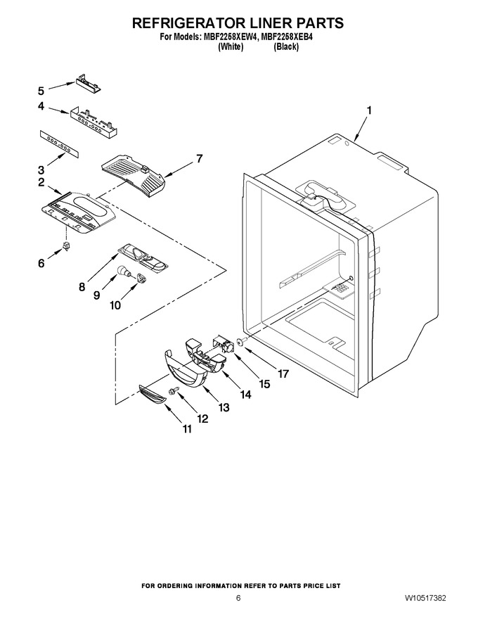 Diagram for MBF2258XEB4