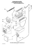 Diagram for 08 - Icemaker Parts