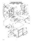 Diagram for 09 - Dispenser Front