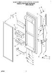 Diagram for 06 - Refrigerator Door