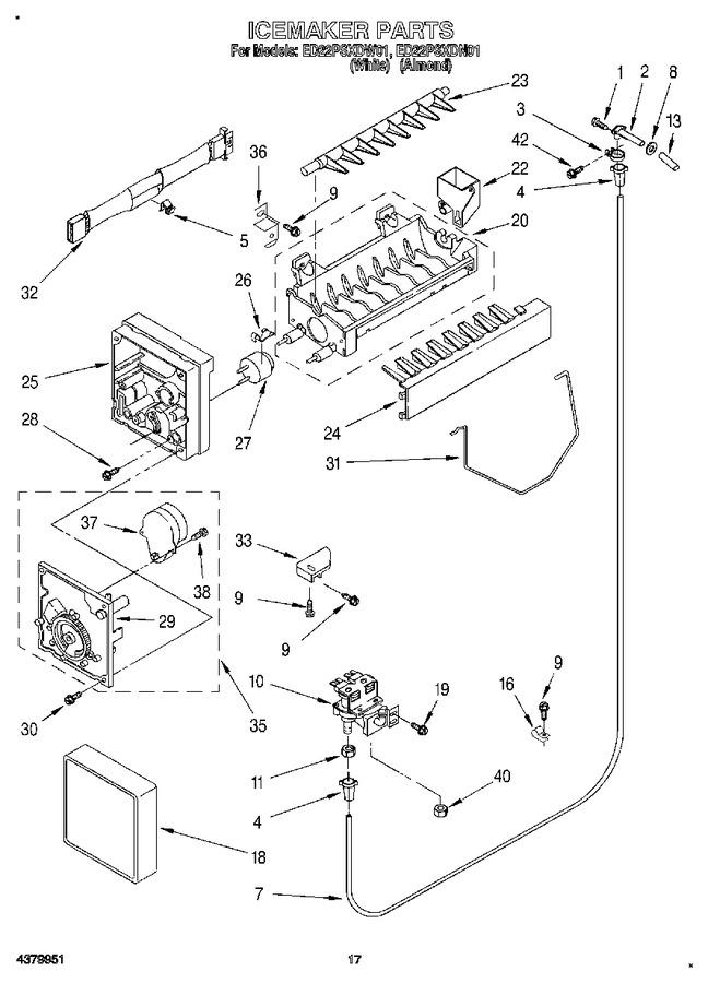 Diagram for ED22PSXDW01