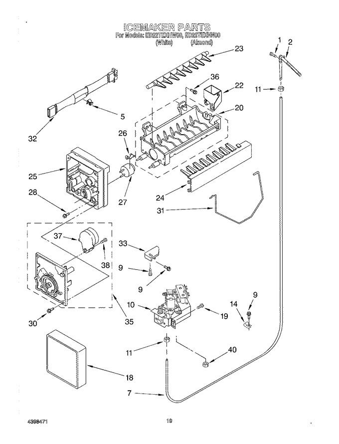 Diagram for ED22TEXHW00