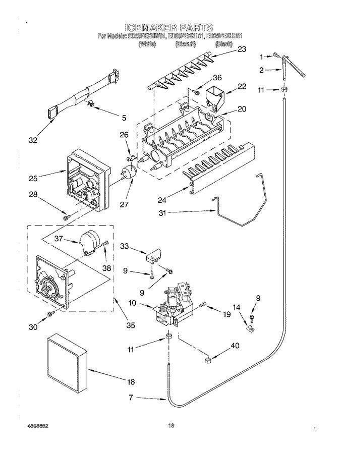 Diagram for ED25PEXHB01