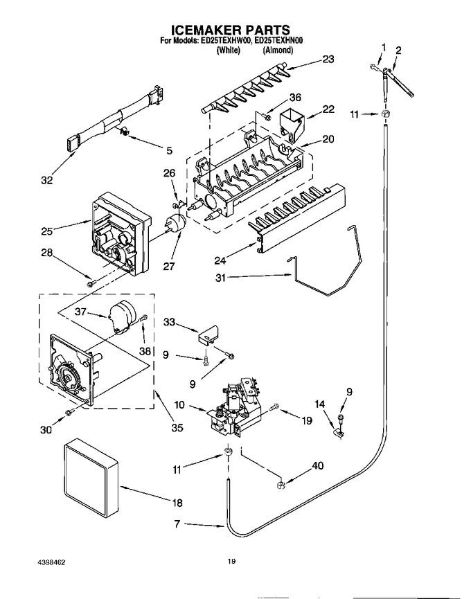 Diagram for ED25TEXHW00
