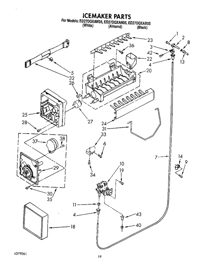 Diagram for ED27DQXAB05